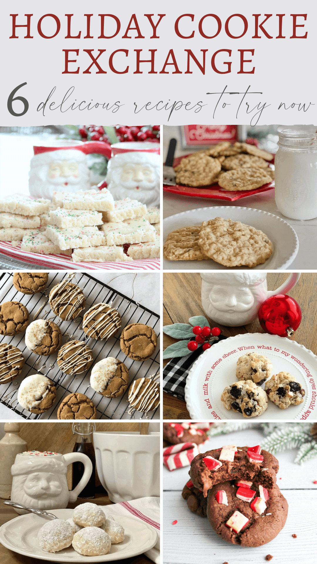 6 delicious recipes to try for holiday cookies!