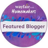 Wayfair Homemakers Featured Blogger