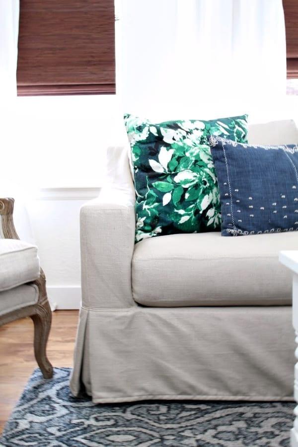 Honest Review: Pottery Barn York Slipcovered Sofa