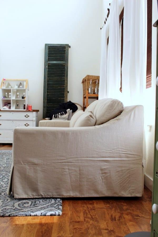 Honest Review Pottery Barn York Slipcovered Sofa 187 The
