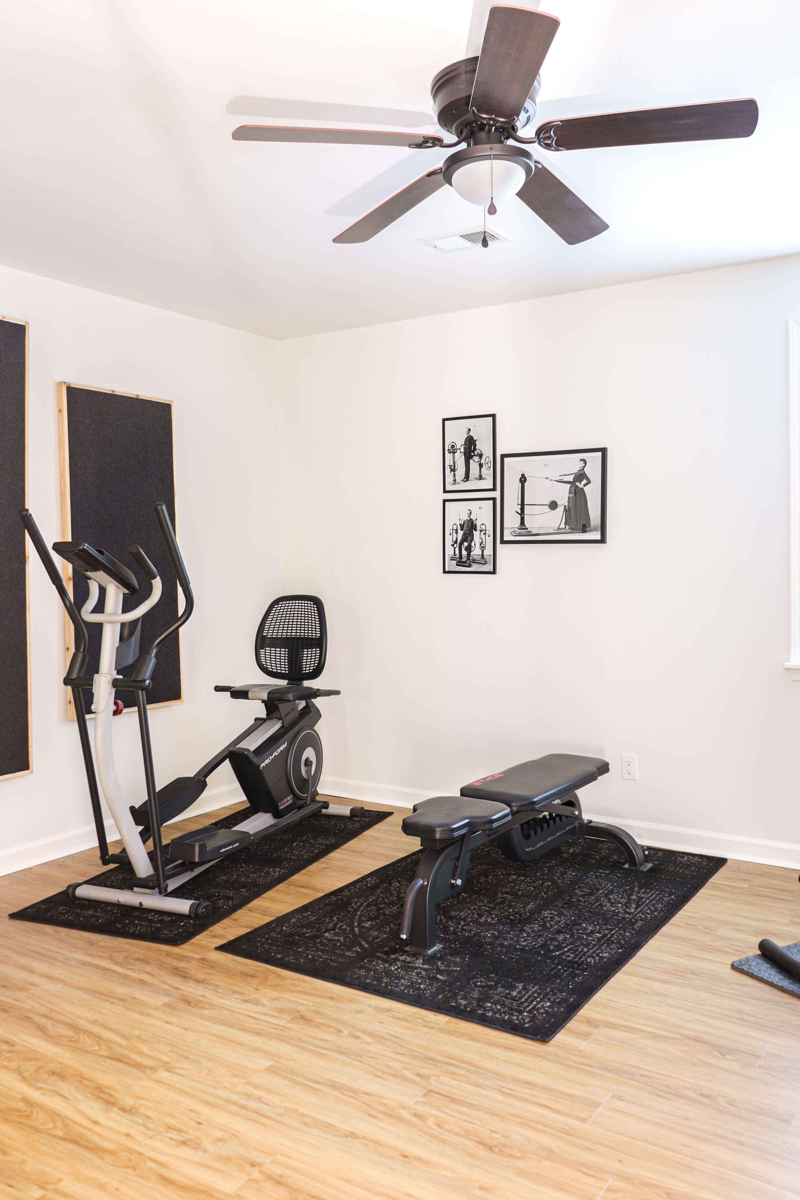 Welcome Home Saturday: In home gym