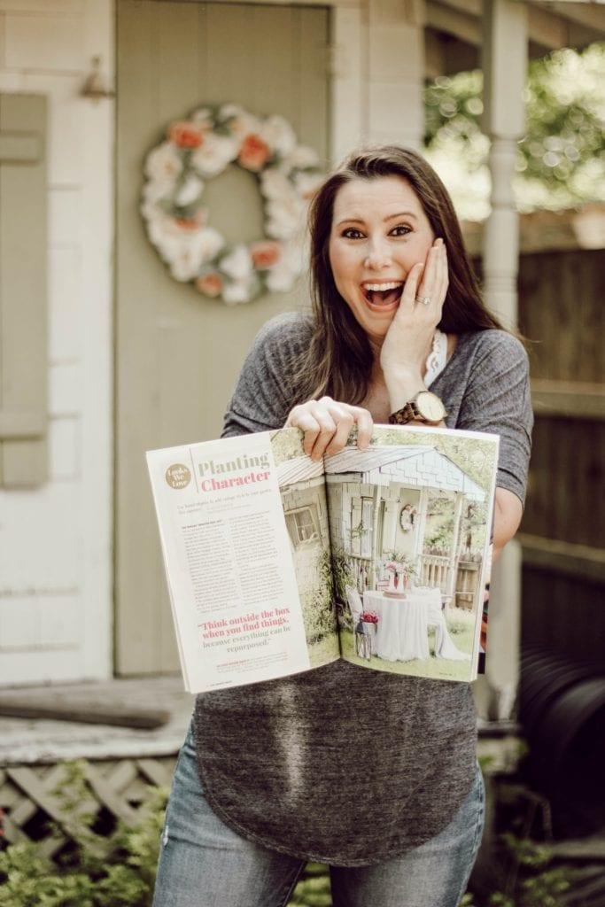 I'm in a magazine!