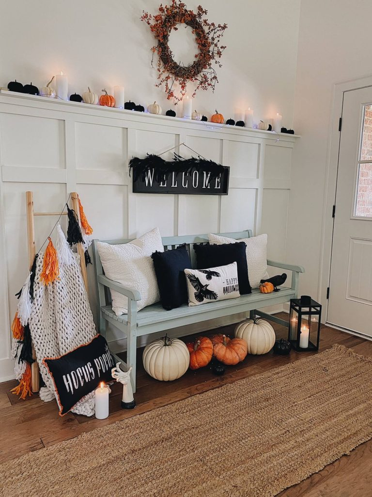 Welcome Home Saturday: Entryway Decor For Fall