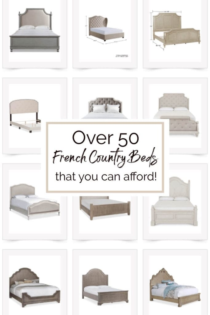 Welcome Home Sunday: 50 French Country Beds that You Can Afford!