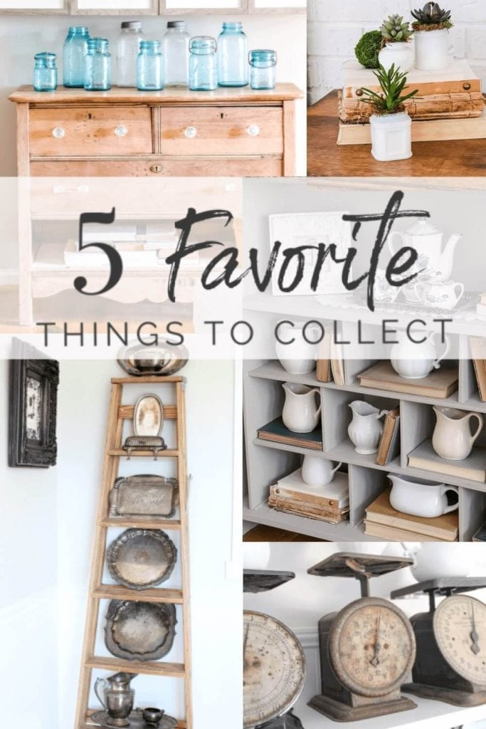 Welcome home Sunday: My 5 favorite things to collect