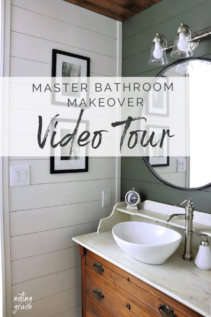 Welcome Home Sunday: Master bathroom makeover video