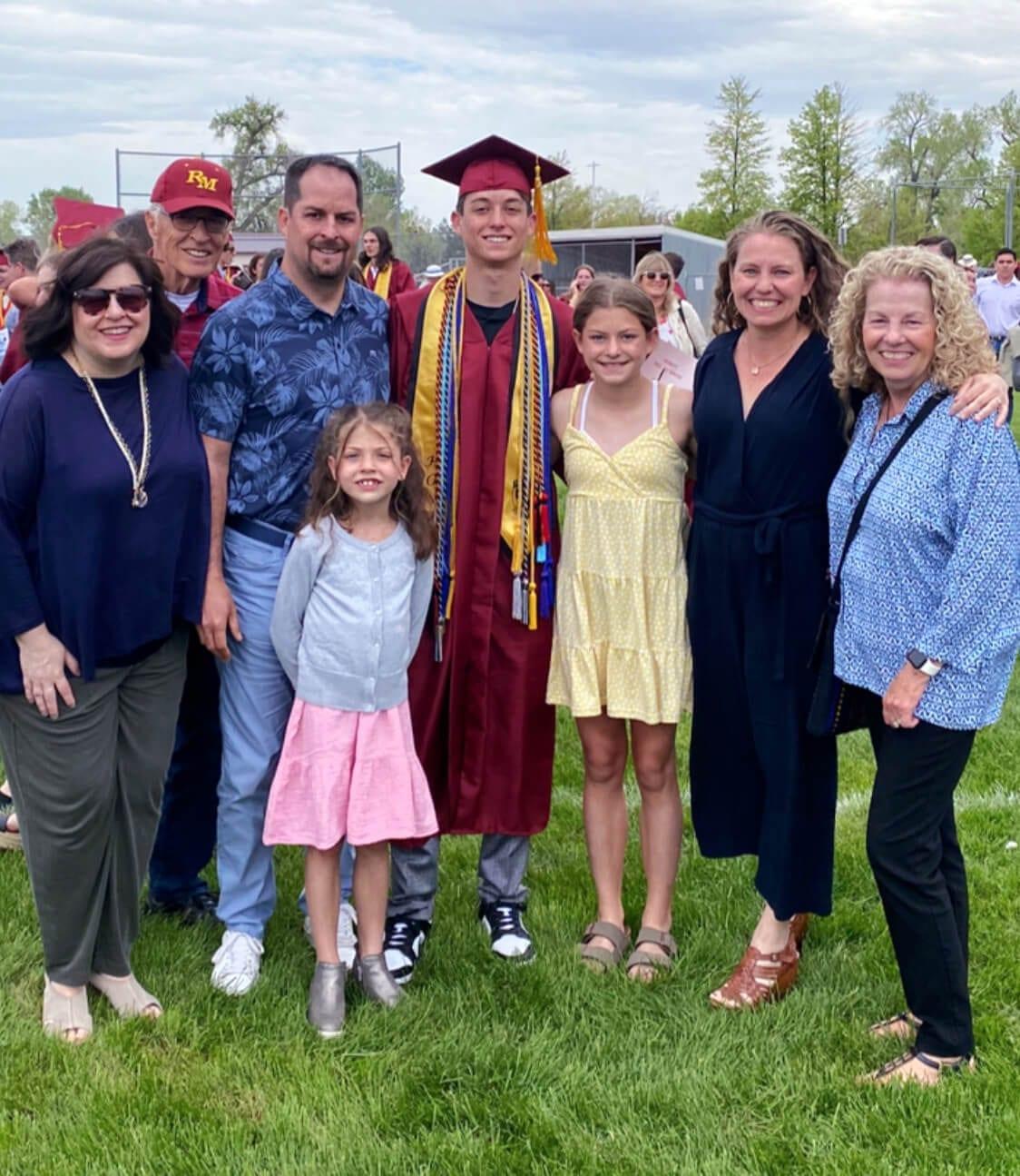 Celebrating our graduate!