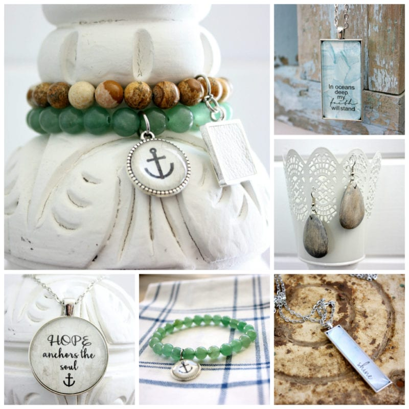 The Tattered Pew jewelry line in collaboration with Dandelions in December.