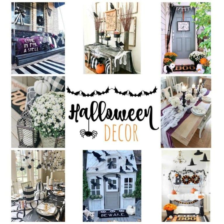 Last Minute Halloween Decor and DIY Ideas Round Up