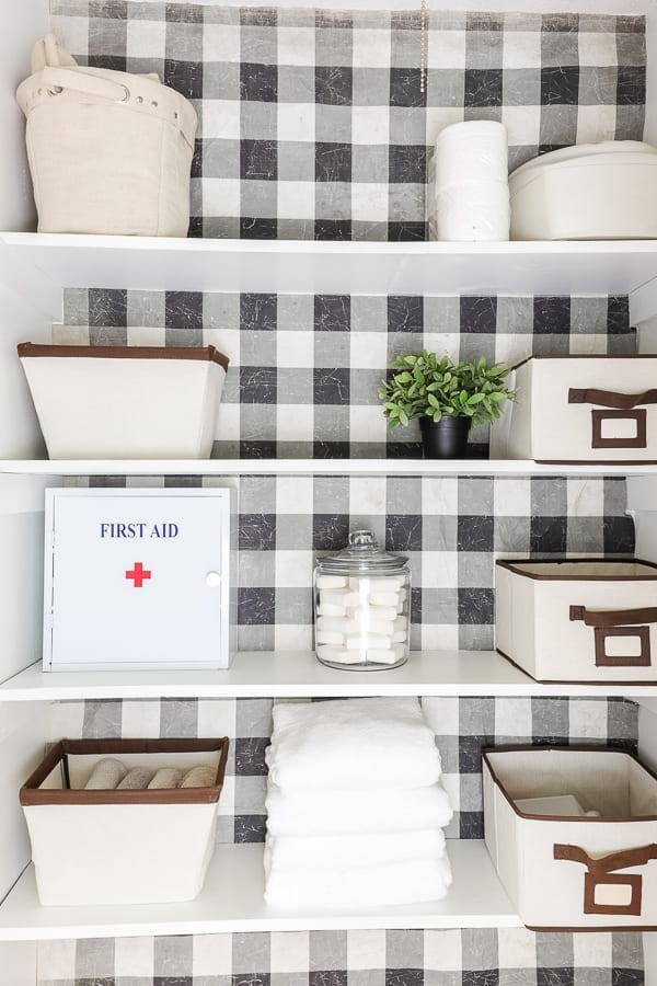 Linen Closet Refresh