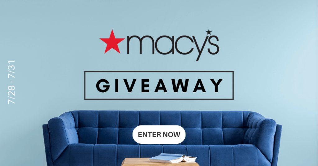 Macy's Giveaway!