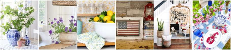 Graphic for Blogger's Best Summer Home Tour Monday