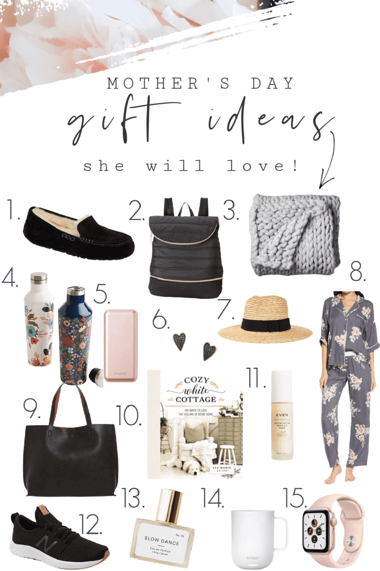 Mother's Day Gift Ideas She Will Love