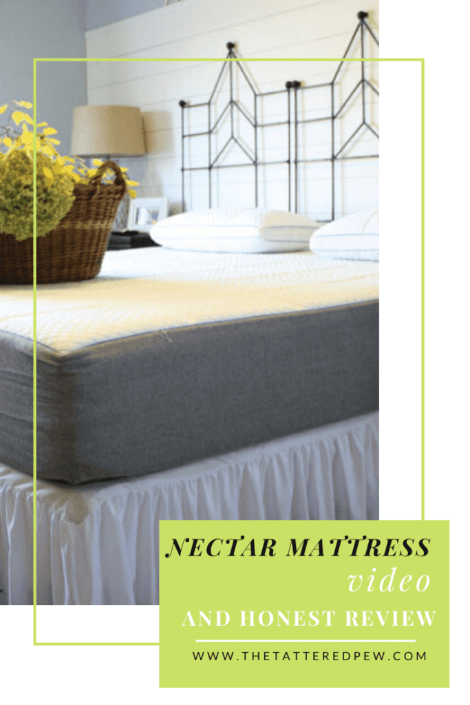 Come watch me open the Nectar mattress and check out the full honest review.