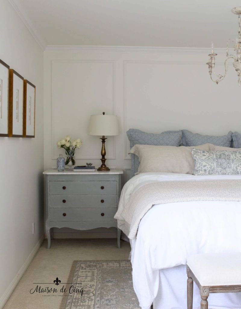 Welcome Home Sunday with Maison de Cinq : Master bedroom reveal!