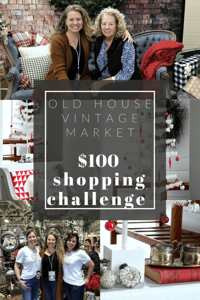 Could you spend just $100 dollars ath Old House Vintage Market?