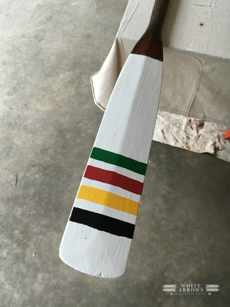 Welcome Home Sunday: Painting Paddles