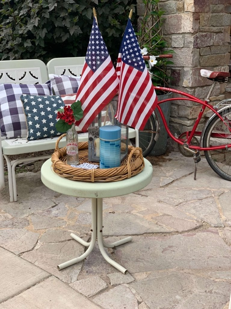 Welcome Home Sunday: Patriotic Stray Styling