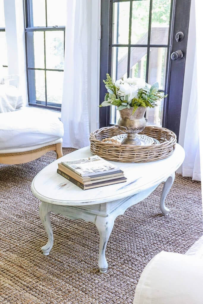 Welcome Home Sunday: Coffee Table Makeover