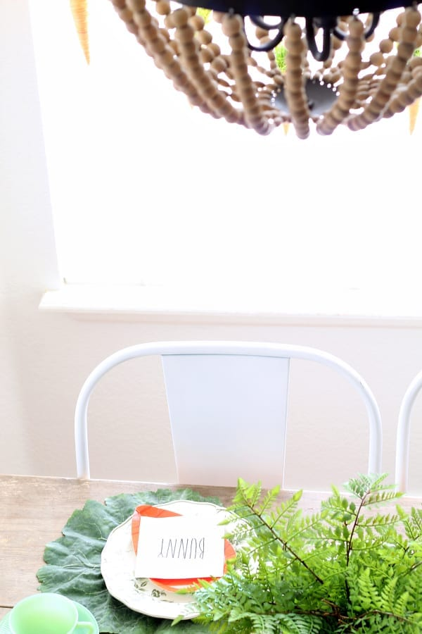 Rae Dunn And Jadeite Easter Tablescape 187 The Tattered Pew