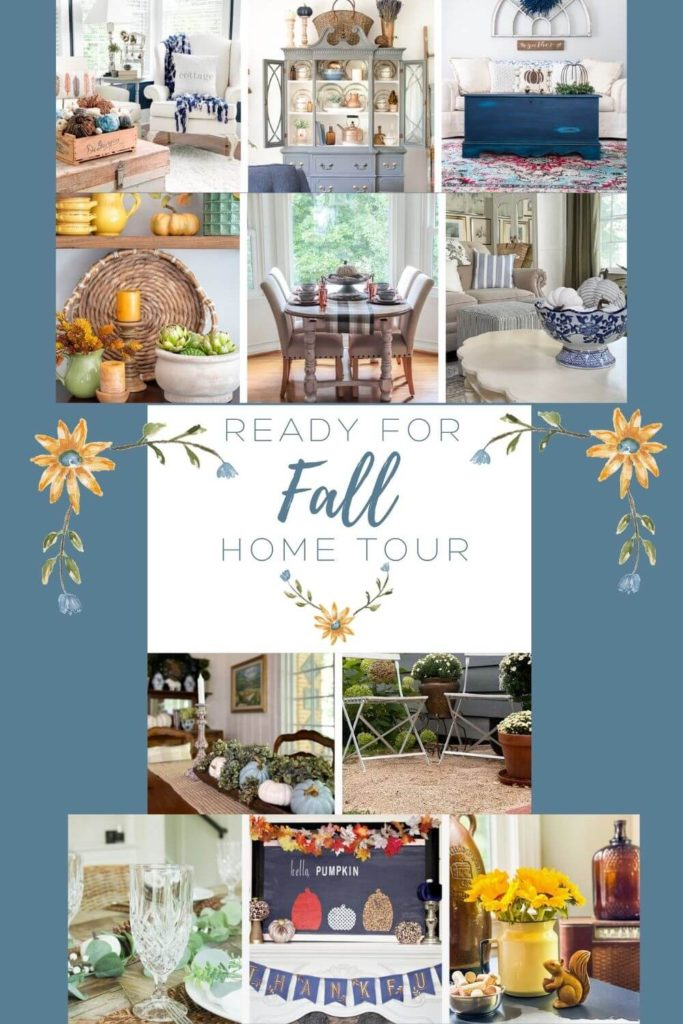 Ready For Fall Home Tours: Inspiration for inside and out!