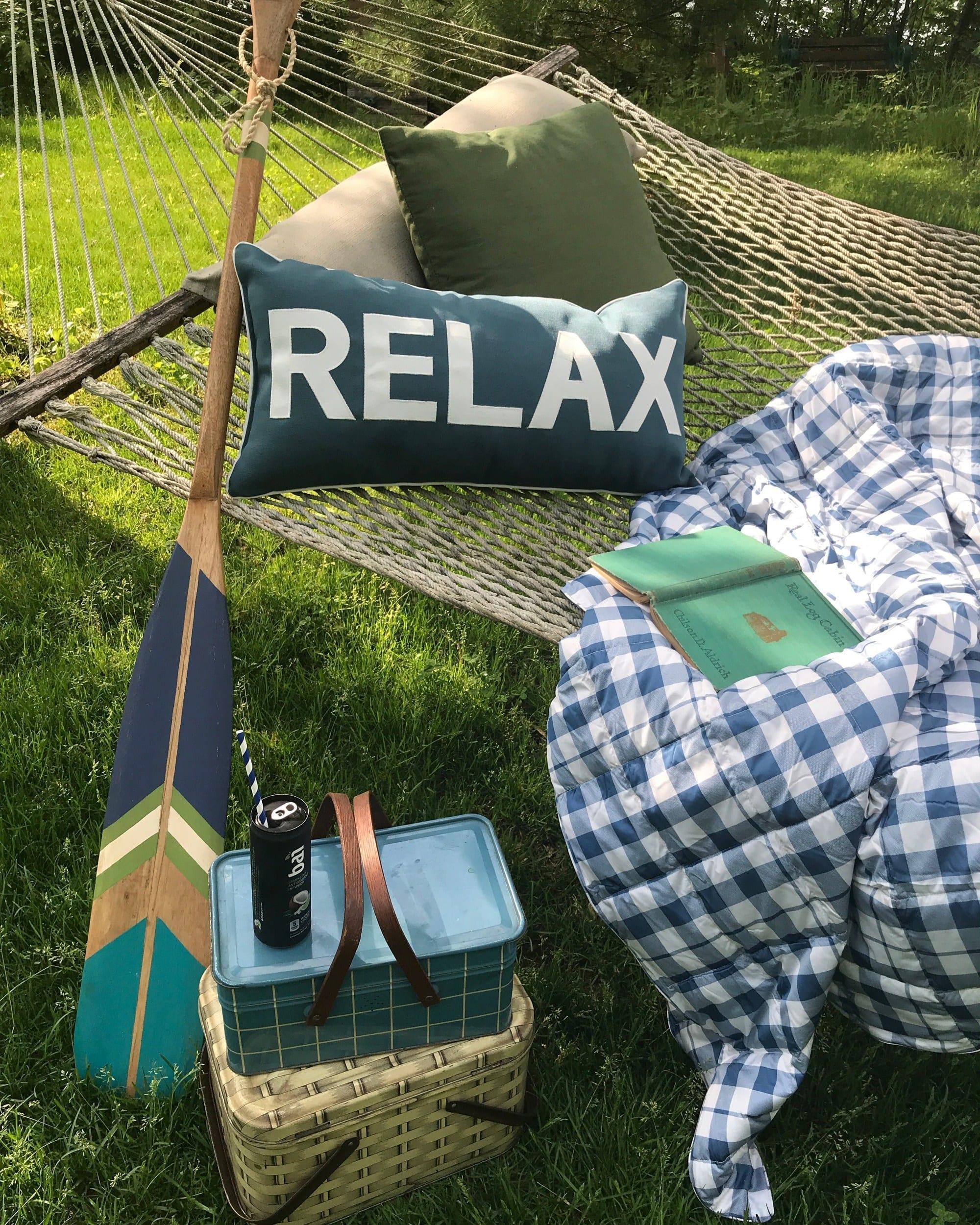 Relax, cozy reading spot