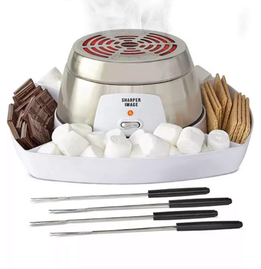 Portable smores maker from Sharper Image on Sale at Macy's