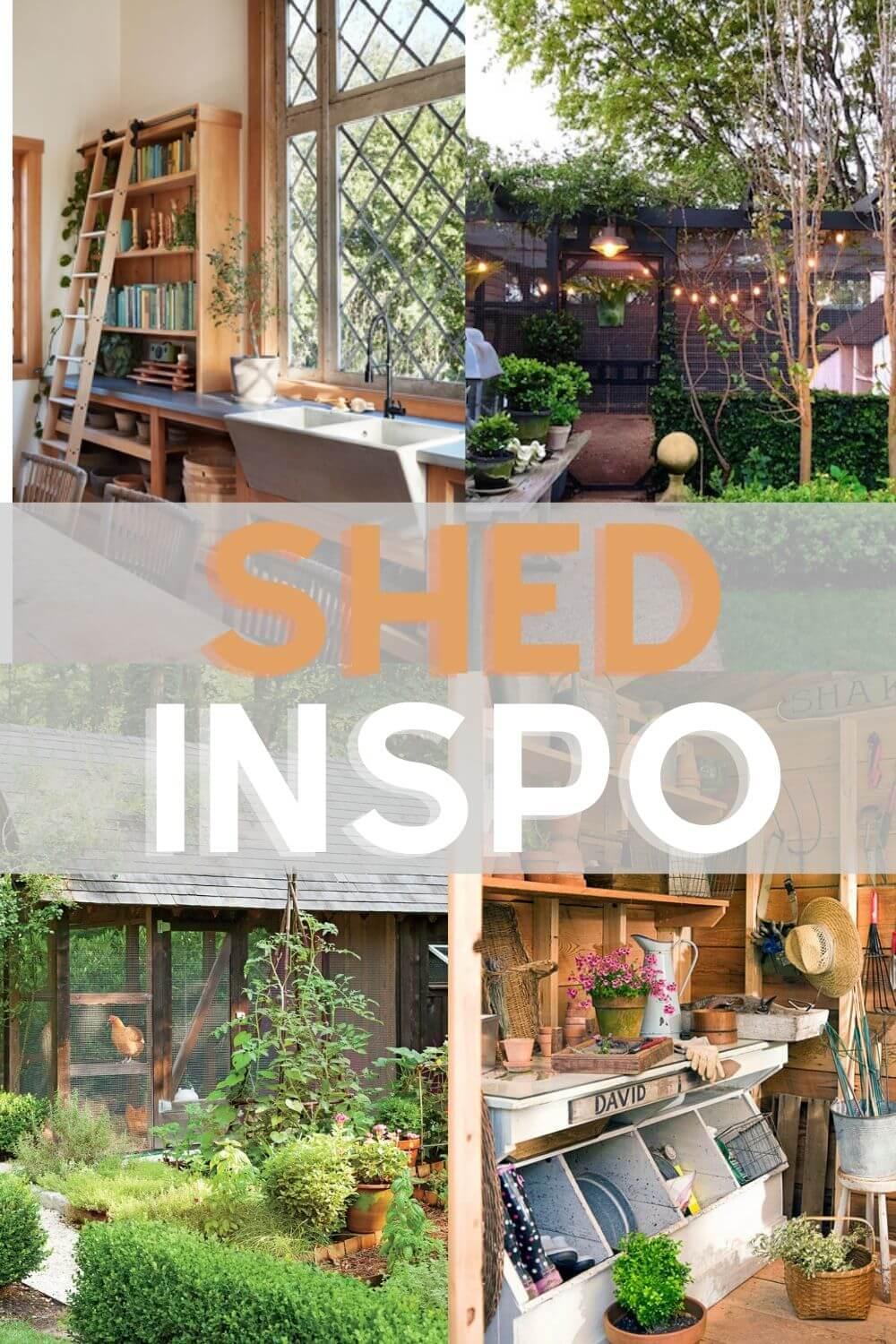 Welcome Home Saturday: Shed Inspo