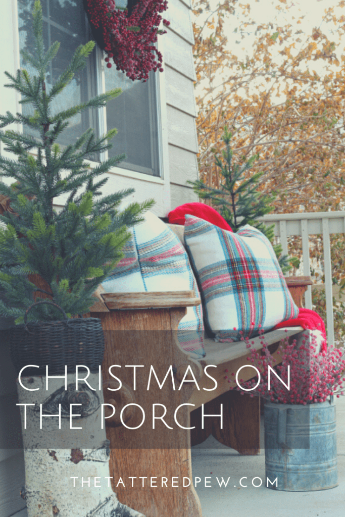 Come see some simple tips and tricks for decorating your porch for Christmas.