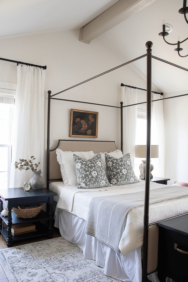 Welcome Home Sunday: Spring bed refresh.