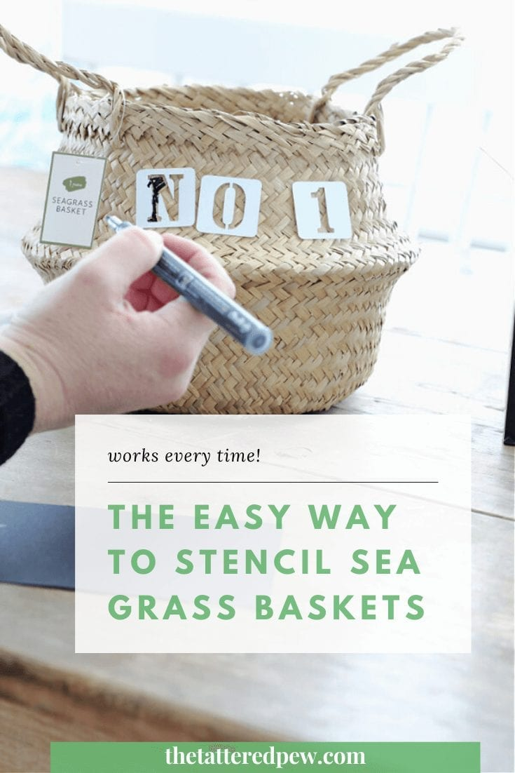 Add a fun touch to sea grass baskets with these fun tips!