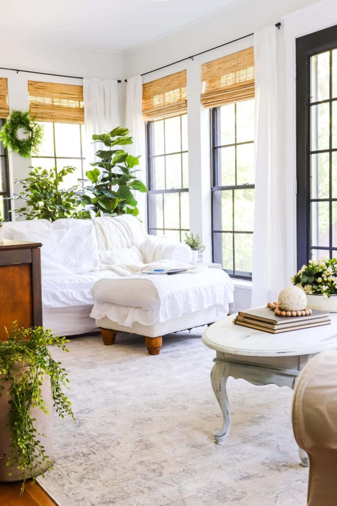 Welcome Home Sunday: Summer Sunroom Refresh