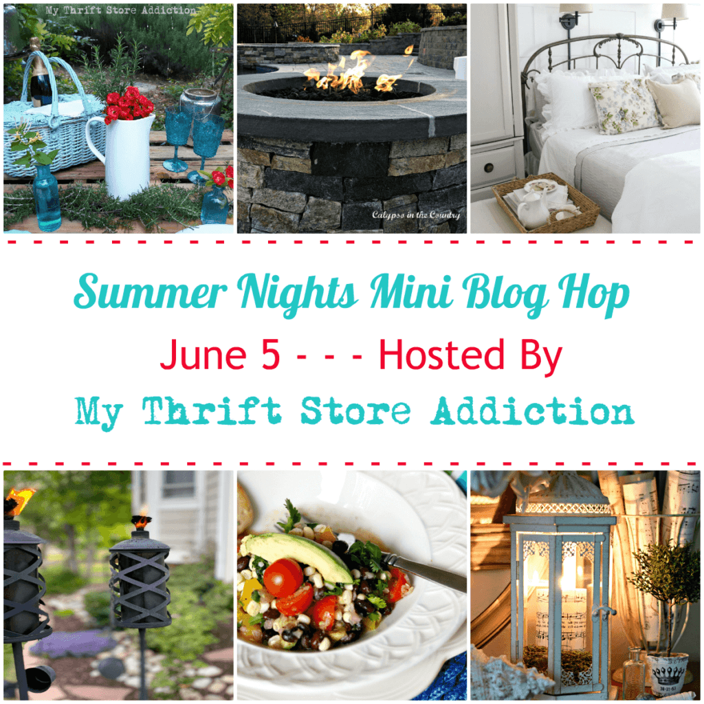Summer Night Blog Hop full of summer inspiration for your home!