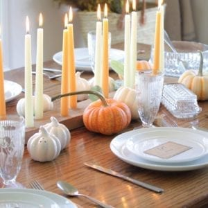 Welcome Home Sunday: Thanksgiving Dinner Table