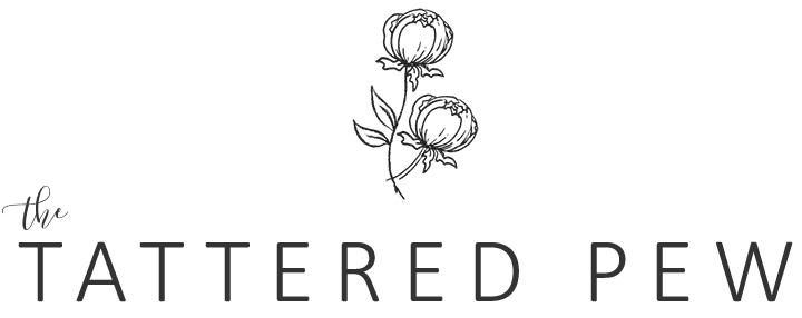 The Tattered Pew Logo