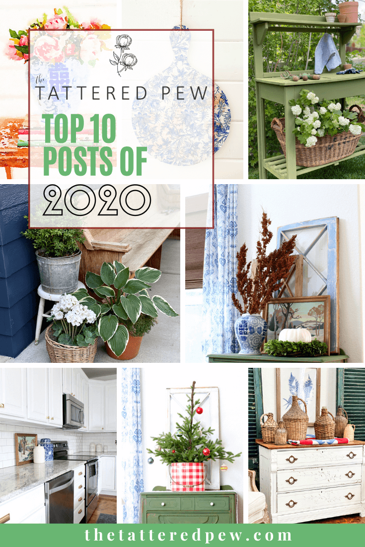 CHeck out the top 10 posts of 2020 for the Tattered Pew!