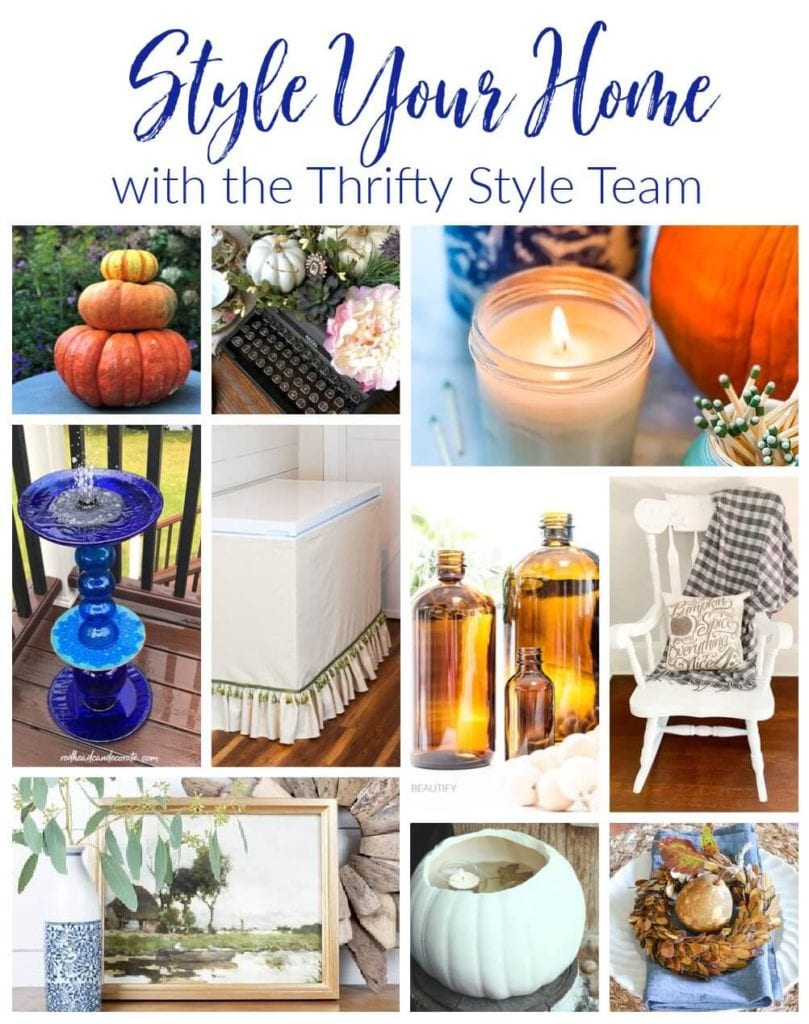 Style your home with these THRIFTY STYLE TEAM ideas!