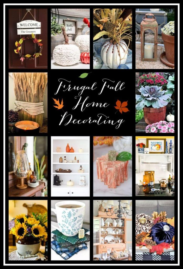 Frugal Fall Home Decorating Ideas