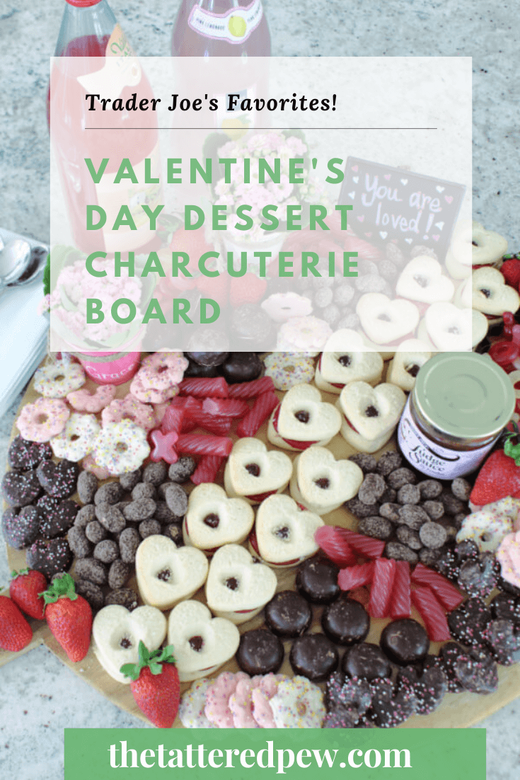 This Valentine's Day dessert charcuterie board is the perfect way to show some love to your loved ones!