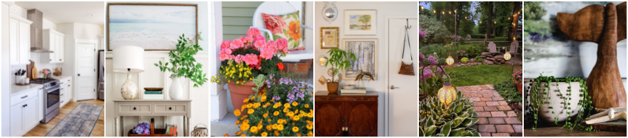 Graphic for Blogger's Best Summer Home Tour Tuesday