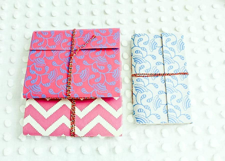 Hanmade ppaer journal from the U COUNT campaign make great gifts for any occasion.