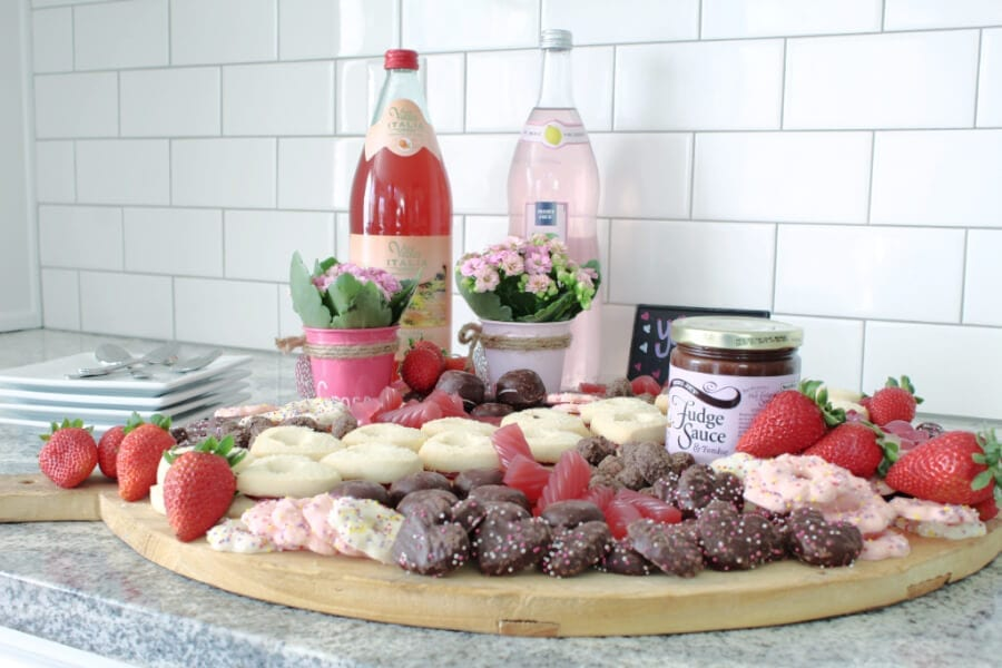 Need a dessert idea for Valentine's Day? Try a Valentine's Day Dessert Charcuterie Board