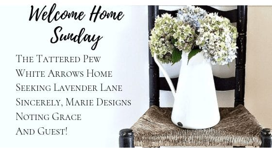 Welcome Home Sunday featuring a weekly guest!