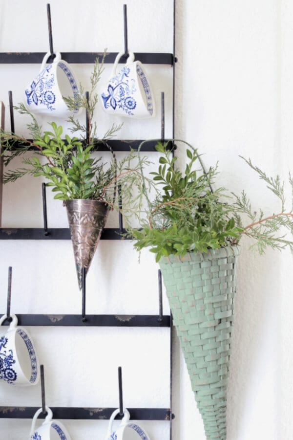 May Day baskets or winter greens baskets?