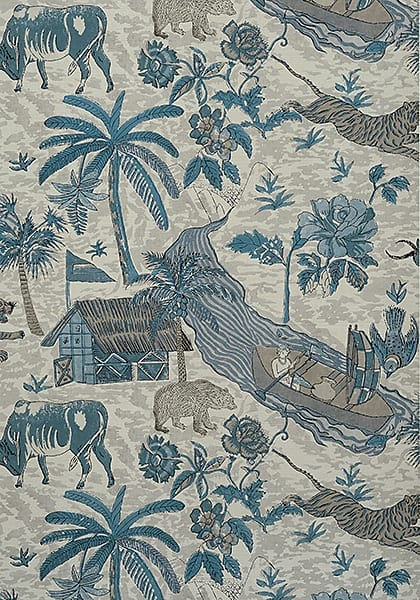 Colony wallpaper from Thibaut will be the statement piece of our bedroom!