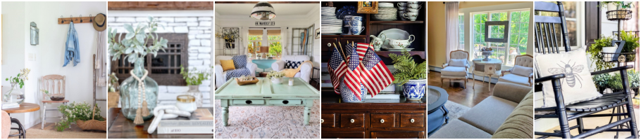 Graphic for Blogger's Best Summer Home Tour Wednesday