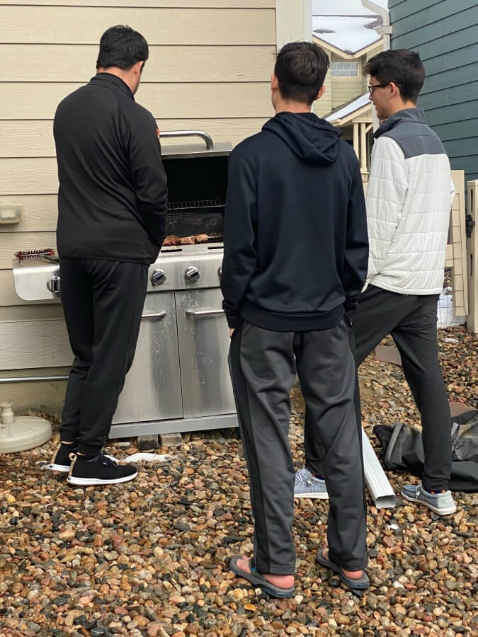 Welcome Home Sunday: Learning to grill