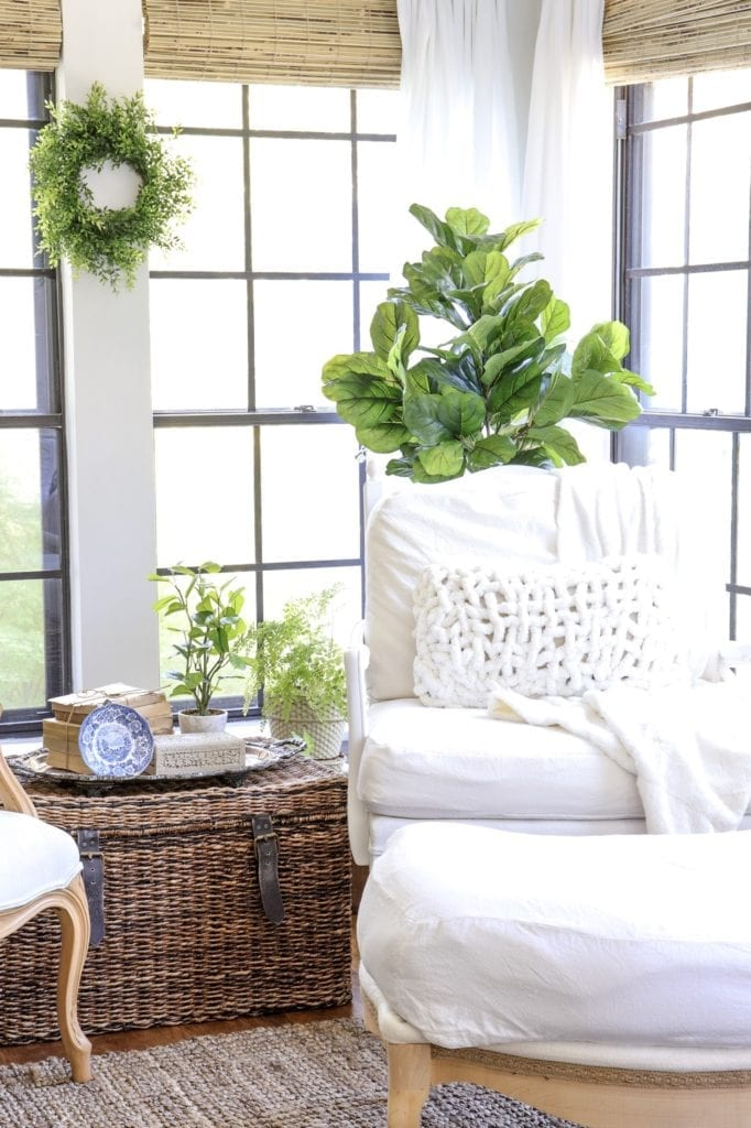 Welcome Home Sunday: French Country Armchair Makeover
