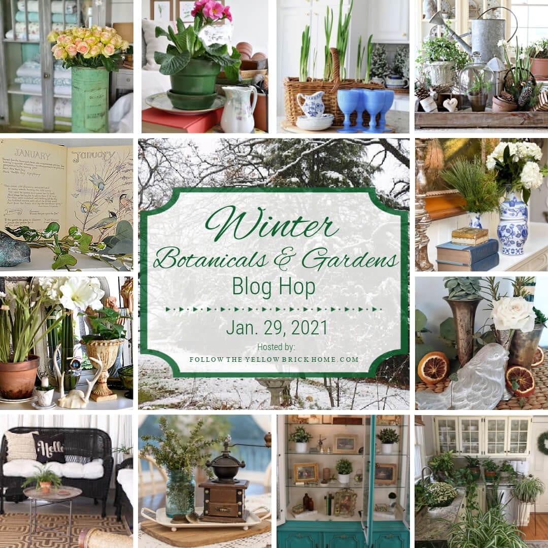 Winter Botanicals and Garden Blog Hop