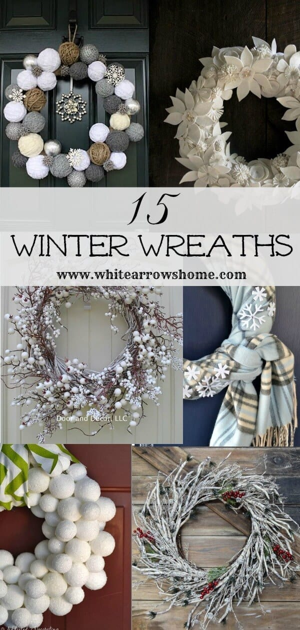 Welcome Home Sunday: 15 Winter Wreaths For Your Front Door